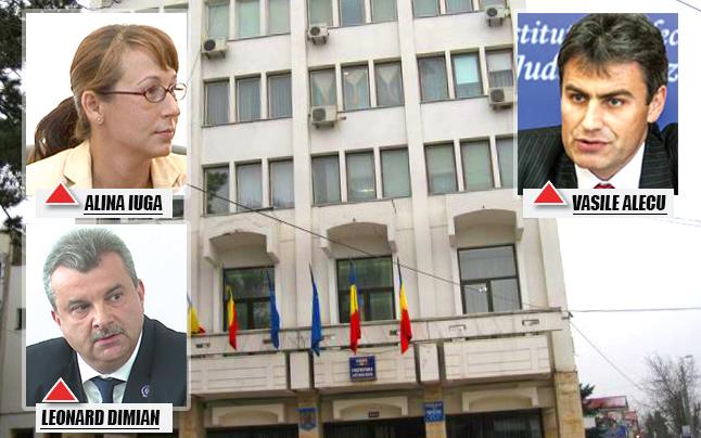 prefectura alina iuga vasile alecu leonard dimian