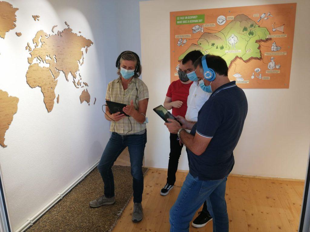 A început vizita UNESCO în Ținutul Buzăului! Ce au făcut în prima zi cei doi evalutori veniți din Grecia și Olanda (video)